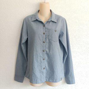 The North Face Button Down Chambray Shirt Small